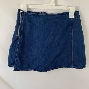 Zara skort- denim skirt with built in shorts